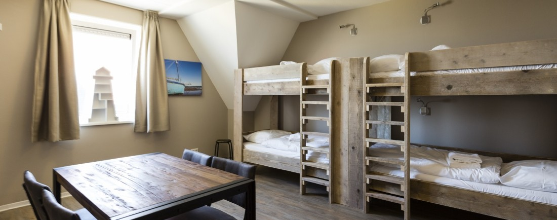 Bunk beds in the XXL Suite for 6 persons!