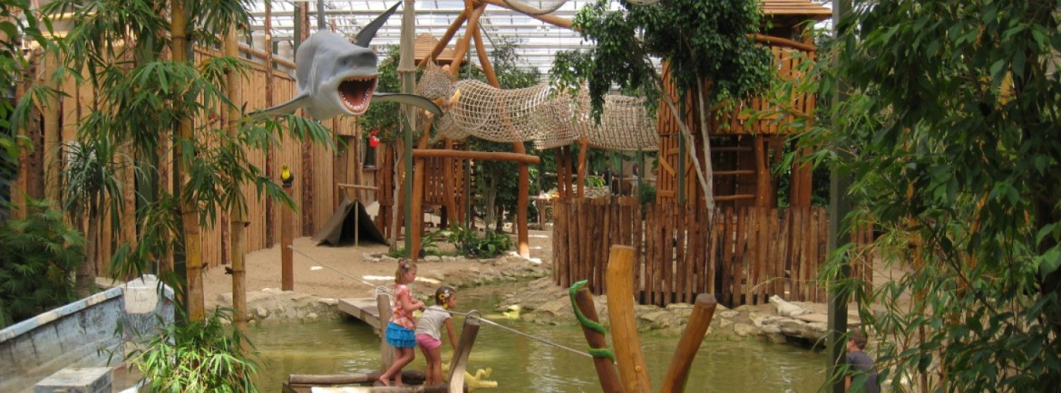 Meet all kinds of animals in Tropical Zoo