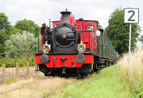 Steam train Goes Borsele